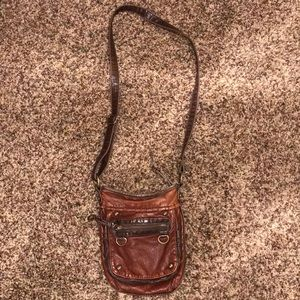 Small Brown Crossbody